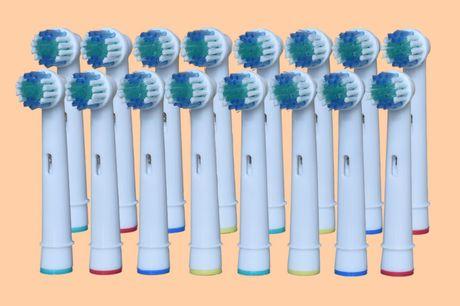 16 opzetborsteltjes Altijd voorraad in huis!<br /> Van een topkwaliteit<br /> Geschikt voor Oral-B