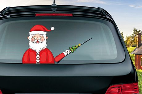 £6.99 for a Christmas car windscreen sticker, choose from seven designs from TopGoodChain