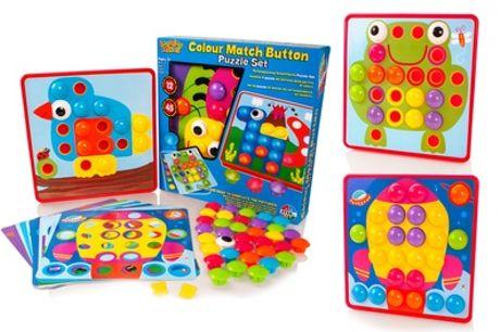 Colour Match Button Art Set