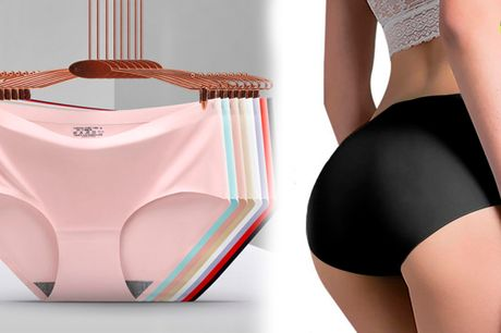Simple og behagelige sømløse trusser - perfekt til stramme jeans og kjoler!