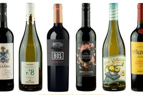 6 flasker af kundernes favorit-vin. 8 ud af 10 kunne finde på at genkøbe disse vine, så der er meget værdi for pengene.