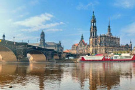 """Die """"Barockstadt"""" Dresden. Von September bis November2021 buchbar! Dresden hat im Frühling und Sommereinenbesonderen Zauber. Denn dann kommen Wahrzeichen wie die Frauenkirche, die Semperoper und der Zwinger besonders zur Geltung und bringen einen regel"""