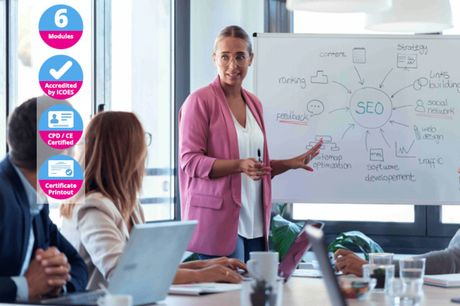 £9 for an online CPD certified 'Become An SEO Expert' course from International Open Academy