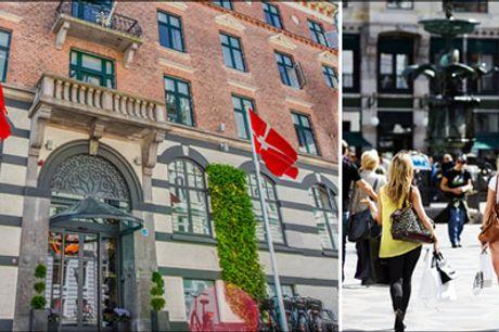 Perfekt beliggenhed i centrum af København - Dejligt ophold for 2 i hovedstaden - bo på et af Københavns ældste hoteller. I får 1 overnatning for 2 inkl. 1 lille flaske vin og snacks ved ankomst samt lækker mogenmad. Særpris kr. 825,-