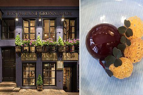 Spar 33% i aften: Restaurant Grønnegade serverer franskinspireret gastronomi i historisk bindingsværkshus.