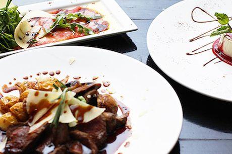 Spar 33% i aften: Hold italiensk smagsfest på Restaurant Fabio.