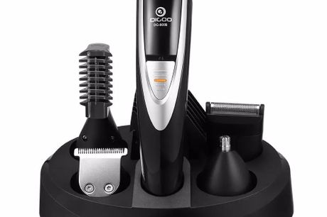 12-in-1 Cordless and Rechargeable Hair Clipper Grooming Kit. The all-in-one styling kit, helping you achieve 5 jobs with 1 device. Full Size Trimmer: Define hair precisely and evenly with the efficient way.  Hair Trimmer: Trim your hair to exactly the len