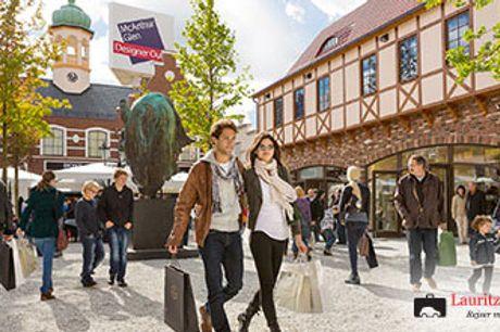 KØR-SELV SHOPPINGTUR TIL TYSKLAND - rabatkort til Designer Outlet og hotelophold for 2.