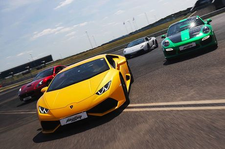 From £29 for a three-lap driving experience with Supercar Test Drives, from £79 for six laps, or from £109 for nine laps - choose from three locations across the UK and save up to 81%
