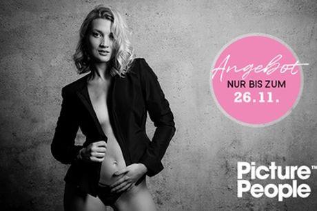 Erotic-Special: Fotoshooting bei PicturePeople inkl. Make-up, 2-4 Bildern (Ausdruck & Datei)(bis zu 76% sparen*)
