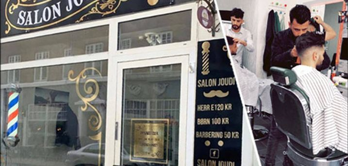 Frisør og barber - professionel styling til manden - Få stylet looket hos Salon Joudi - Herreklip inkl. barbering, trimning samt hårvoks efter endt behandling. Værdi kr. 200,-