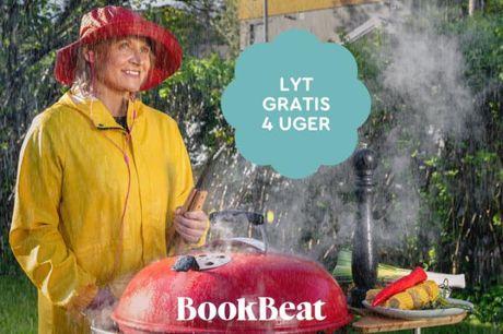 Gratis adgang til lydbøger i 5 uger Med BookBeat appen får du adgang til over hundrede tusinde bøger! Bookbeat har den bedste bedømmelse i App-store og Google Play blandt de mest populære lydbogstjenester i Sverige.