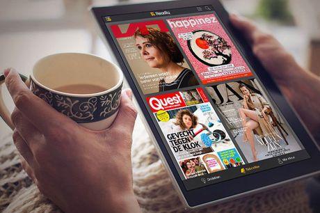 Readly: 2 maanden onbeperkt magazines Keuze uit 5.000+ digitale tijdschriften  Leuk om cadeau te geven  Eenvoudig en op elk moment opzegbaar