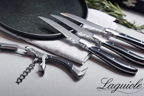 Steak-knive, vinsæt eller proptrækker. Gå efteråret i møde med Laguiole