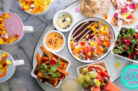 The Organic Boho: ØKO vegansk brunch. Nomineret til Byens Bedste Grønne Måltid i både 2018 og 2019