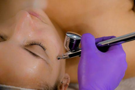 Ansigtsbehandling. Forny din hud med diamantslibning