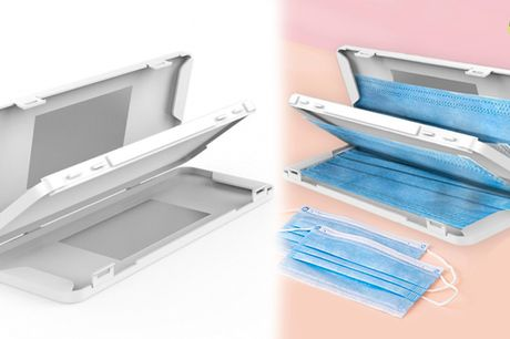 Smart og hygiejnisk opbevaringsboks til engangs ansigtsmasker