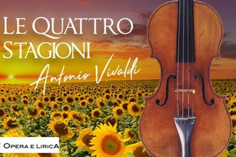 Le Quattro Stagioni di Vivaldi, dal 1 ottobre al 26 novembre all'Oratorio Caravita di Roma (sconto 25%)