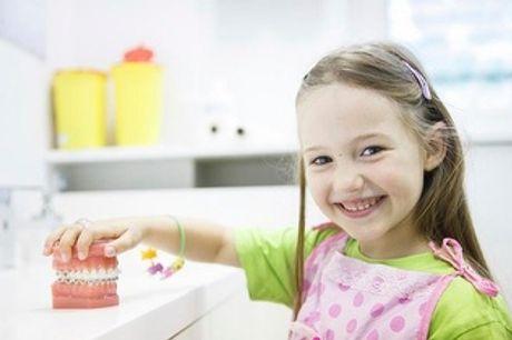 ¡Revisión infantil dental por 9,95€ en Chamberí!