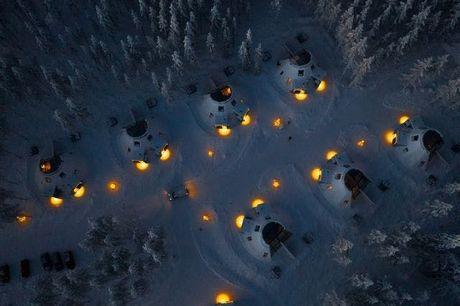Erleben Sie die Magie des Polarkreises in Lappland, Rovaniemi, Finnland