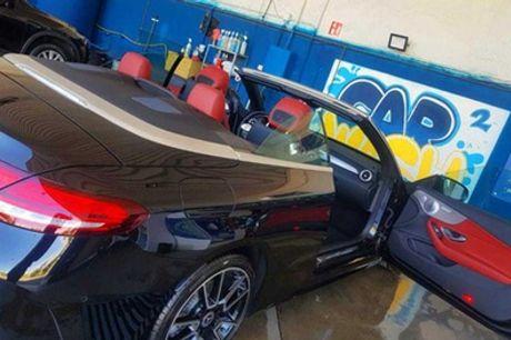 Lavado interior y exterior de coche a mano con opción a limpieza de tapicería en Best Car Wash Alcorcón