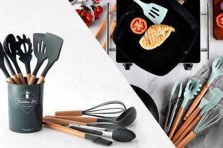 Stort køkkensæt. 11 must-have redskaber til amatørkokken