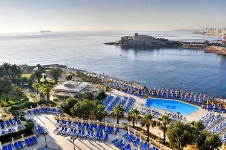 Maltesischer 5*-Lifestyle in Bestlage - Kostenfrei stornierbar, Corinthia St George's Bay, San Ġiljan, Malta - save 43%