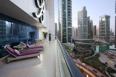Emirati Arabi Uniti Dubai - Bonnington Jumeirah Lakes Towers 5* a partire da € 100,00. Imponente 5* con piscina esterna nel quartiere della moda