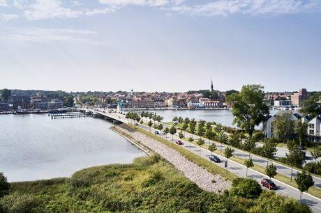 Få 2 skønne overnatninger på lækkert boutique-hotel lige ud til Slien Fjord