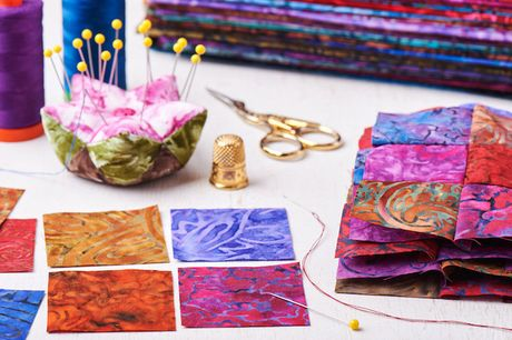 £9 for a quilting with kids online course from International Open Academy