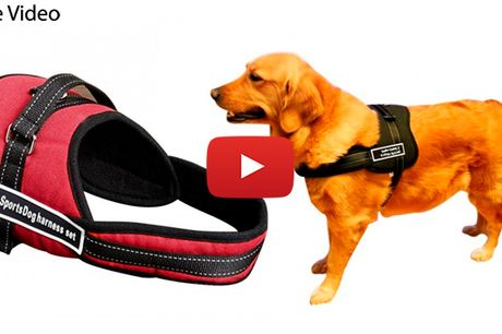 Ergonomisk nylonsele i høj kvalitet og komfort-design