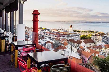 Portogallo Lisbona - Shiadu Monte Belvedere Boutique Hotel 4* a partire da € 26,00. Soggiorno atipico e retrò nella città della luce