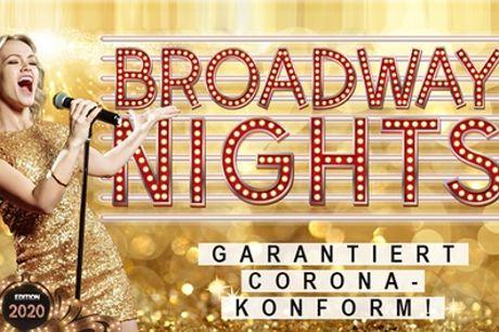 """Bestplatz- Ticket für die Musicalgala """"Broadway Nights"""" ab September in Deutschland"""