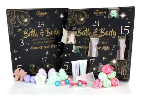 £16.99 instead of £26.99 for an Urban Beauty Bath & Body Celebration advent calendar from Avant Garde - save 37%