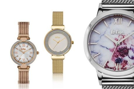 From £16.99 for a Lee Cooper ladies watch in a choice of 14 designs from Brand Arena - save up to 56%