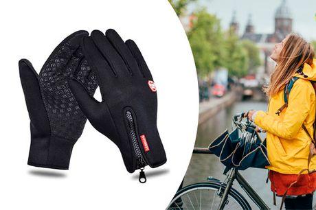 Vind og vandtætte handsker -  vælg mellem flere farver