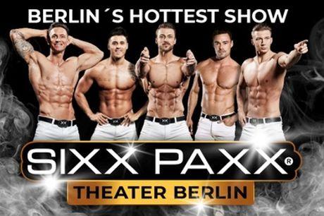 """1 Ticket für """"SIXX PAXX"""" ab 02.10. im Sixx Paxx Theater Berlin am Potsdamer Platz (bis zu 36%sparen)"""