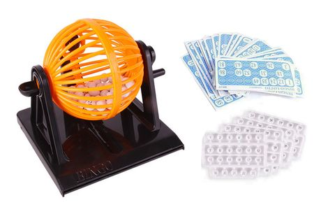 £9.99 for a bingo set game from Yello Goods!