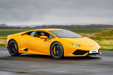 £19 for a one-lap Lamborghini Huracán driving experience, from £59 for a three-lap experience, or from £79 for six laps with PSR Experience - head to one of seven track locations across the UK, with the option to extend your experience and get behind the