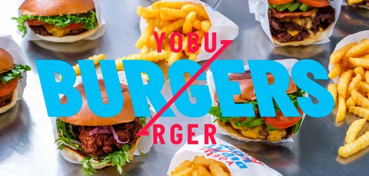 Frit valg hos YOBURGER. TAKE AWAY fra Københavns mest fortryllende burger-joint