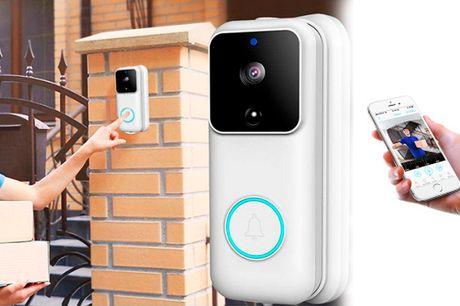 Innovativ dørklokke med videofunktion og Cloud opbevaring