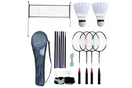 Four-Player Badminton Set