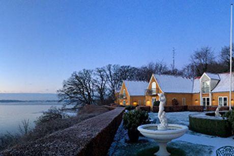 FAKKELGAARDEN ved Flensborg Fjord - Vinterophold med 5-retters gourmetmiddag og vinmenu for 2 pers.