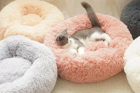 Cama para mascotas de 40, 50, 60 o 70 cm de diámetro disponible en differente colores
