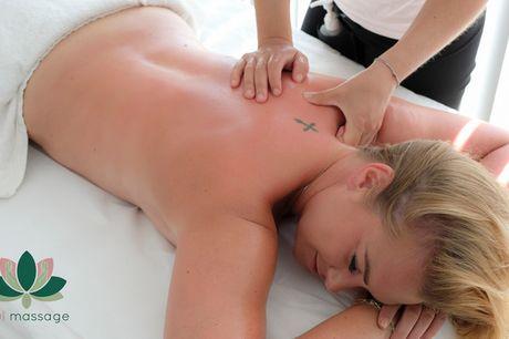 60 min. massage. Forny din energi med en luksuriøs wellness-oplevelse