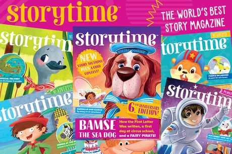 £9.99 instead of £29.94 for six back issues of Storytime Magazine - save 67%