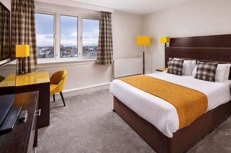 An Ayr stay at Mercure Ayr Hotel for two with one bottle of wine, spa access and breakfast. £89 for an overnight stay with two-course dinner, £99 for two nights, or £129 for two nights with dinner on first night  - save up to 36%