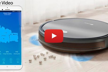2020 TOP MODERNE: Intelligent Robotstøvsuger der både Støvsuger og Vasker gulvet.