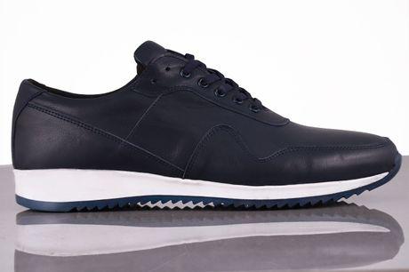 Amager. Skind sneakers Gå ikke ned på stil med disse sko, som er super behagelige og hvor du virkelig får noget for pengene. Brug dem til hverdag eller på arbejde, skoene kan bruges til det hele. Skoene er nordiske i størrelsen, Udvendigt materiale:Læder