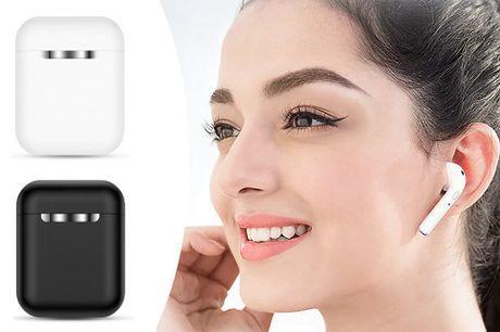 Med disse earbuds er du sikret god lyd i en kompakt størrelse. Vælg mellem sort og hvid - inkl. fri fragt